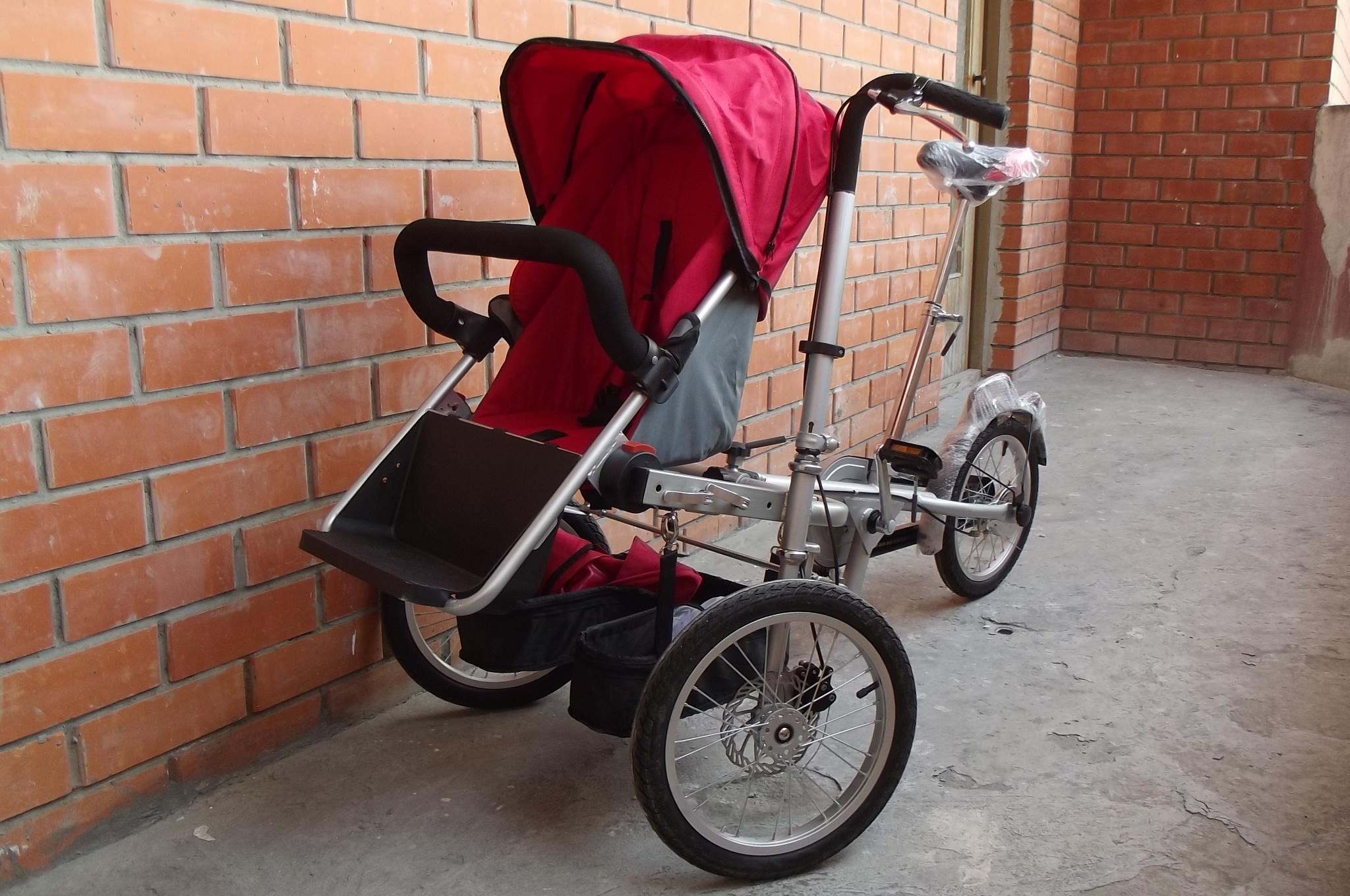 Велосипедная коляска своими руками